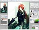 AzPainter2で銀魂の神威描いたよ(^^)/ thumbnail