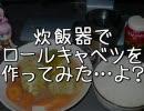 炊飯器でロールキャベツを作ってみた…よ?