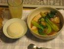 パンツマンの青梗菜と豚肉の炒め煮