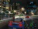 「NFSU」 Need for Speed Underground (ネットワーク対戦時のタイムラグ現象)