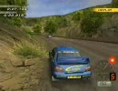 「PS2」 SEGA RALLY 2006 AC4 Part-2 後方視点