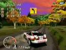 SEGA RALLY(PC版)LAKE SIDE-01