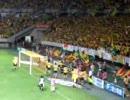2007年8月18日ジェフvs磐田 勝利のバンザイ