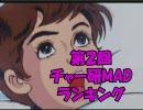 【会員6000人突破記念】第2回チャー研MADランキング