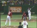 【ニコニコ動画】谷、木村コーチにささげる逆転満塁弾!を解析してみた