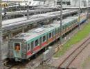 東急5000系、長津田駅での入換えシーン