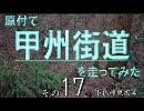 【ニコニコ動画】原付で甲州街道を走ってみた(その17)小仏峠東坂4を解析してみた