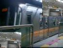 ソ ウ ル 都 市 鉄 道 6 号 線 が 吹 っ 切 れ た