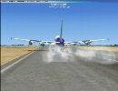 FSX エアバス A380 を飛ばしてみた thumbnail