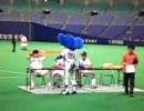 07.9.9  試合終了後 「ドアラ グラウンドサイン会に参加!!」