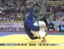 世界柔道2007 棟田康幸の見事な背負い