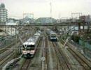 在りし日の209京浜東北線と373特急東海号