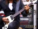 Kirk Hammet shows riffs from Master Of Puppets .METALLICA