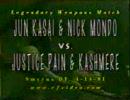 【CZW】葛西純&モンド vs ペイン&カシミア Part1