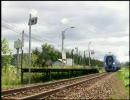 通過動画 - 宗谷本線の小駅で列車の通過を体験する 1