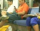 電車内でオナニー