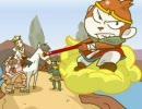 「スーパーモンキー大冒険」BGMアレンジにアニメを付けてみた。