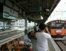 201系H4編成 さよなら運転ラスト 松本駅入線