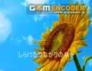 【ニコニコ動画】[自作曲]タイトル「夏の陽」[歌ってみた]を解析してみた
