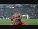 【ニコニコ動画】【サッカー】準々決勝 オランダ VS ブラジル【ワールドカップ】を解析してみた