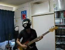 星雲仮面マシンマンのベースを弾いてみた
