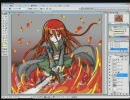 根性のない絵師が灼眼のシャナのシャナを描いてみた その1