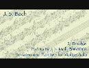 バッハ:無伴奏パルティータ第1番 2.Double【初音ミクAppend】