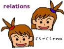 relations ぐちゃぐちゃver とかち