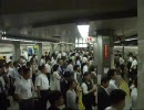 大阪市営地下鉄で走行中にもメール可能に。   東京人「   」