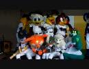 マツダオールスターゲーム2010FAN!FUN!STAGEでのマスコット撮影会の様子