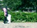 盗撮!公園での若者の醜態