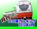【A列車で行こう】 月刊ニコ鉄ランキング2010年 7月版