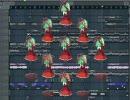 【ニコニコ動画】FL Studioで鍵山雛をものっそい勢いで回す Part2【厄神様の通り道】を解析してみた