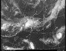 美しい地球 2007年9月 part1 衛星画像 実況天気図