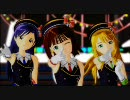 """Miki, Chihaya and Haruka """"Massugu(Go Straight)"""""""