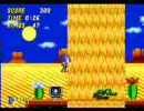 【MD】ソニック2★long★「Dust Hill Zone Act.1」