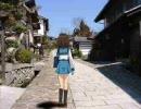 【MAD】勉強中、あちこちハルヒに歩かせてみた