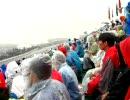 C席仮設(6,1000円)の素晴らしい眺めF1in富士スピードウェイ