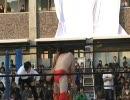 学生プロレス引退試合1