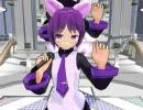 【UTAU+MMD】デフォ子で『カンパイ☆LOVE』