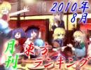 月刊東方ランキング 10年8月 thumbnail