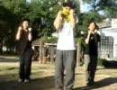 ハレ晴レユカイを踊る男三人