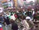 驚異的人数でハレ晴レユカイを踊るoff in 秋葉原(Part1) 4/8 秋葉原中央通り