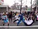 驚異的人数でハレ晴レユカイを踊るoff in 秋葉原(Part1) 4/8