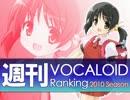 週刊VOCALOIDランキング #165
