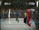 【壮絶ハンディキャップ戦】WWE2009外人とのオンライン対戦【1vs3】 thumbnail