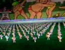 北朝鮮 - 子供による マスゲーム - 2005