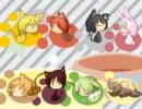 【8匹の子猫ちゃん】キャットフード【合唱】