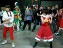 スペインの東方コスプレのBad_Apple!!ダンスイベント
