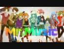 【ニコカラ】 Mr.Music(On vocal)【パート別色分け】